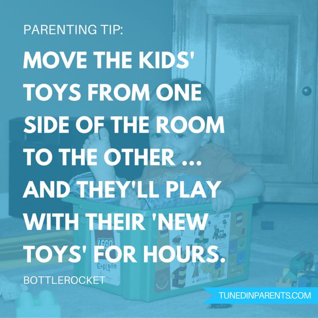 Tuned In Parents - TiP Jar parenting tip from Bottlerocket