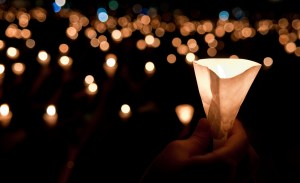 Tuned In Parents - Horrific Week in Parenting News, Candle light vigil, photo by Clarence, Creative Commons