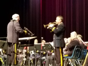 Karl L. King Municipal Band conducted by J Jimmerson, soloist Tim Miller
