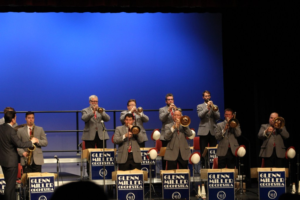 The fantastic brass section