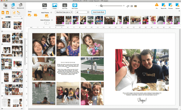 Digital photo albums are a million times better than scrapbooking! Here's why.
