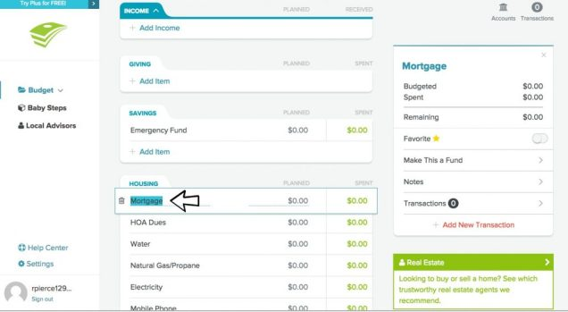 review of everydollar online budgeting tool