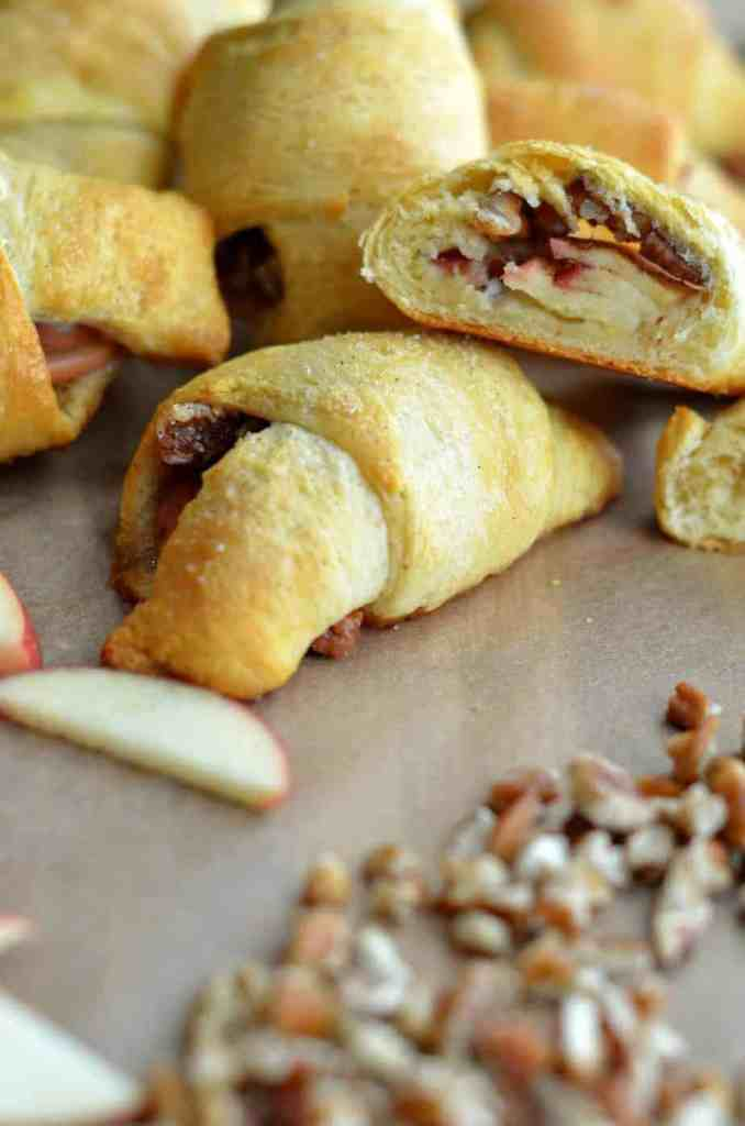 Apple Pie Crescent Rolls 2