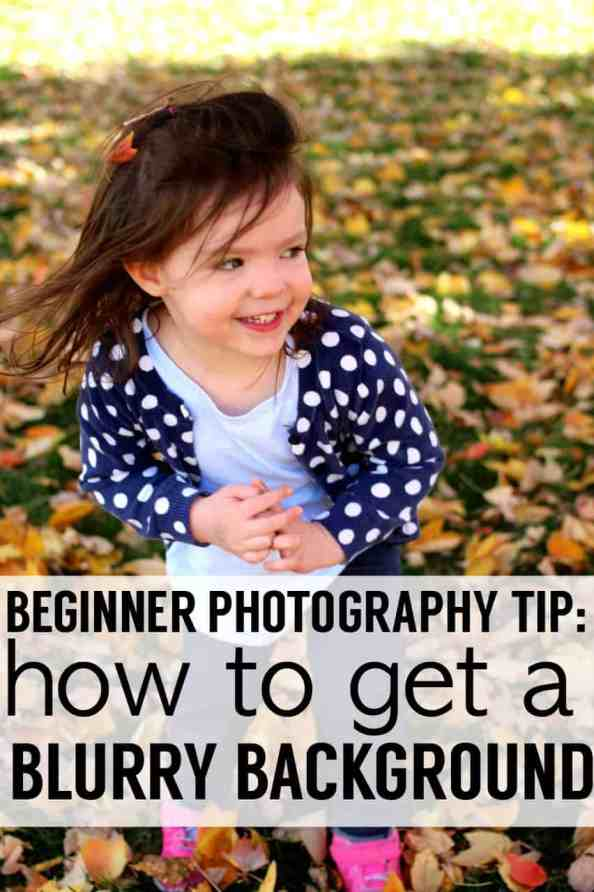 How to get a blurry background. One of the posts in my mom-photographer series. Learn how to take better pictures of your kids with this one easy tip - turn off auto and blur the background :) http://wp.me/p6bl1n-LL