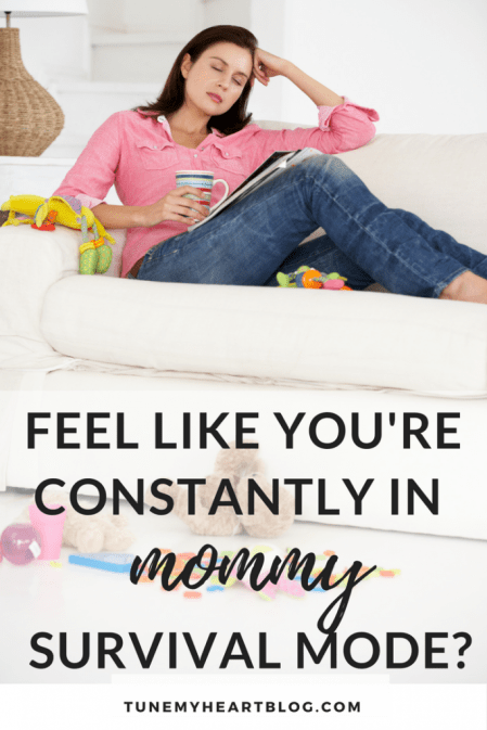 Being a mom to littles is so exhausting. And it can feel like you're barely surviving mommyhood. But you can thrive. You can run and not get tired. Here's the secret.