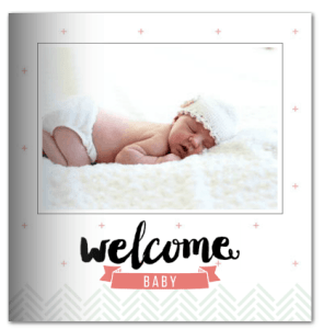 Adorable Mixbook Baby Book!