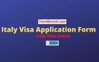 Italy Visa 2021