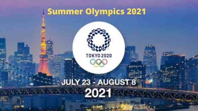 Summer Olympics 2021 Schedule