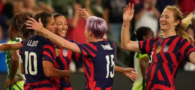 U.S. Women's Olympic Soccer Team 2021