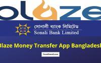 Blaze Money Transfer App Bangladesh