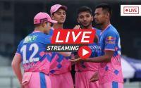 Rajasthan Royals vs Punjab Kings 2021 Live Match
