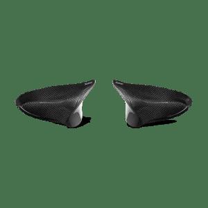 Capace oglinzi carbon Akrapovic - High Gloss BMW M2 Competition / M2 CS (F87N) - OPF/GPF 2018 - 2020