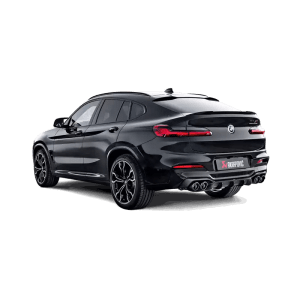Difuzor bara spate Carbon Akrapovic - High Gloss BMW X4 M / X4 M Competition (F98) 2020 - 2020
