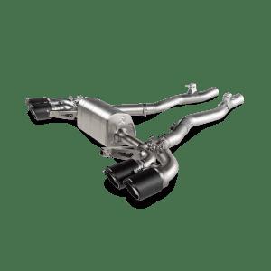 Evacuare Akrapovic Slip-On Line (Titanium) BMW M8 / M8 Competition (F91