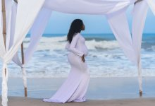 "Photo of Fella Makafui Displays Baby Bump In Medikal's New Music Video ""Odo"