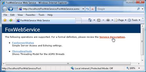 .NET Web Service
