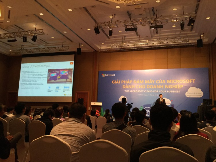 Hội thảo Microsoft Cloud