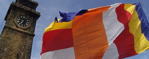 Người cư sĩ sáng tạo cờ Phật giáo
