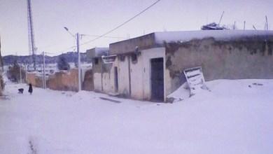 Photo of بسبب الثلوج: معتمدية العيون معزولة وتواصل انقطاع الكهرباء