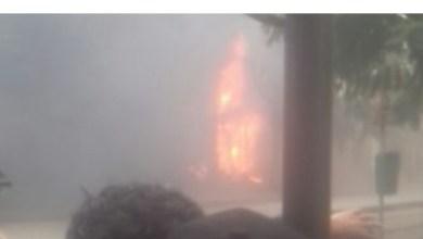 Photo of عاجل: حريق هائل بالقرب من البلماريوم وتوقف لحركة الميترو