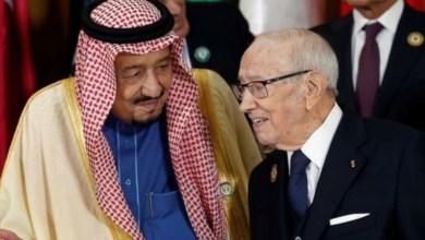Photo of العاهل السعودي يغادر قاعة القمة فور خروج امير قطر ..