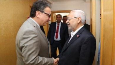 Photo of الغنوشي يستقبل حافظ قايد السبسي في منزله..تفاصيل اللقاء
