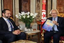 Photo of الغنوشي يلتقي رئيس البعثة الأوروبية لملاحظة الانتخابات