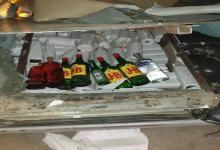 Photo of معبر الذهيبة : الكشف عن كمية هامة من الخمور الرفيعة داخل سيارة ليبي