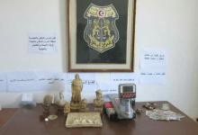 Photo of المهدية : حجز كنز ثمين من الياقوت وآثار نادرة بحوزة شبكة (صورة)