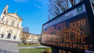 Photo of ايطاليا تغلق11 بلدة بعد انتشار كورونا وارتفاع عدد الاصابات في يومين