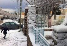 Photo of تساقط الثلوج في تالة