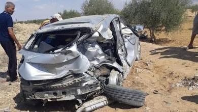 Photo of وفاة امرأة ورضيع في حادثة اصطدام سيارة بقاطرة بقفصة