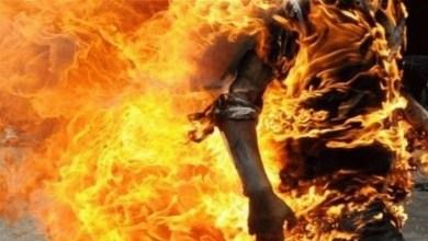 Photo of جندوبة: كهل يضرم النار في جسده