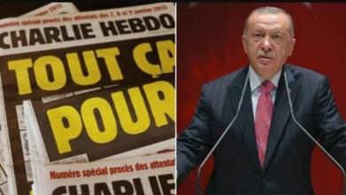 "Photo of أردوغان يتقدّم بشكوى ضد ""شارلي إيبدو"""