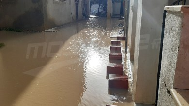 Photo of الحمامات: الحماية المدنية تتدخّل لشفط مياه الأمطار
