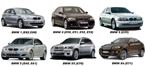 Camera marsarier BMW E39, E90, E91, E60, E60, E61, X5(E70), X6(E71), E82, E88 - 8020