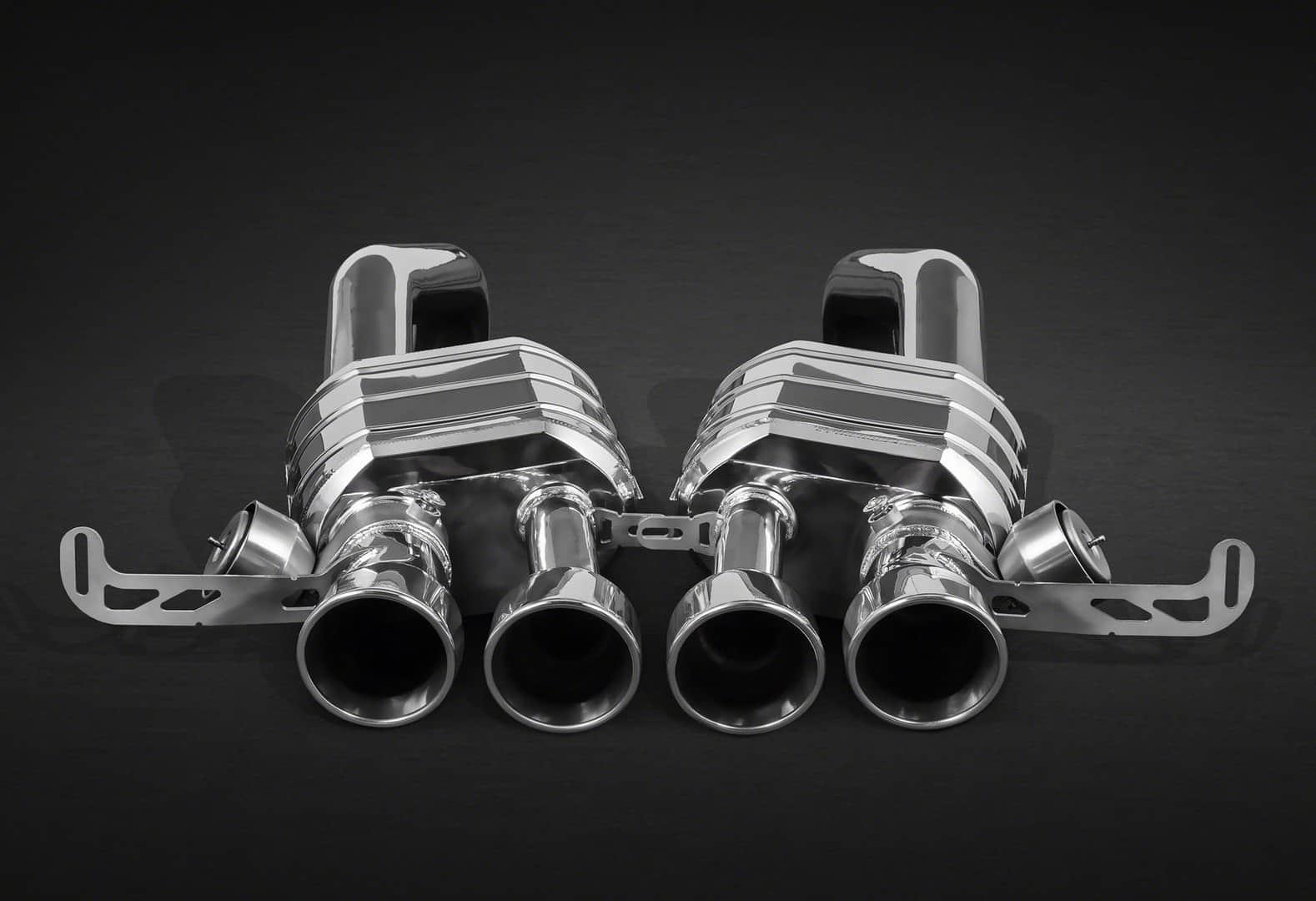 corvette c7 z06 exhaust with valve