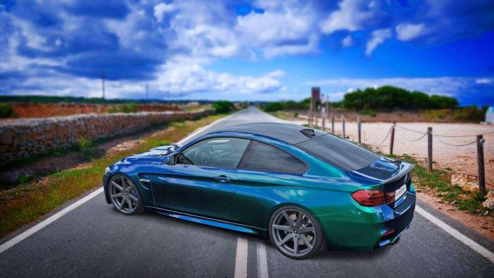 BMW M4 Schräg Seite preview