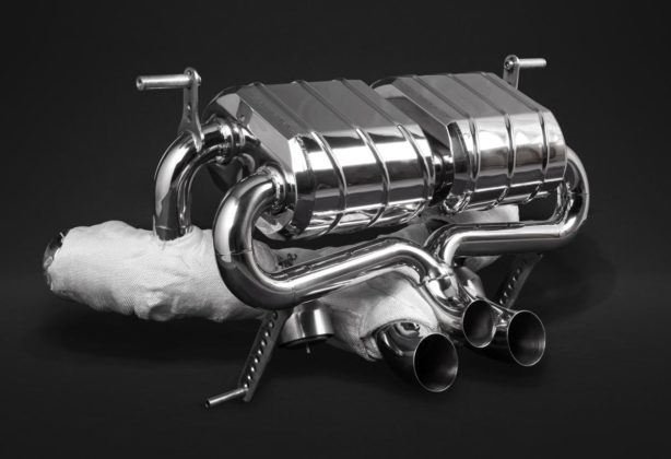 Aventador S LP740 exhaust