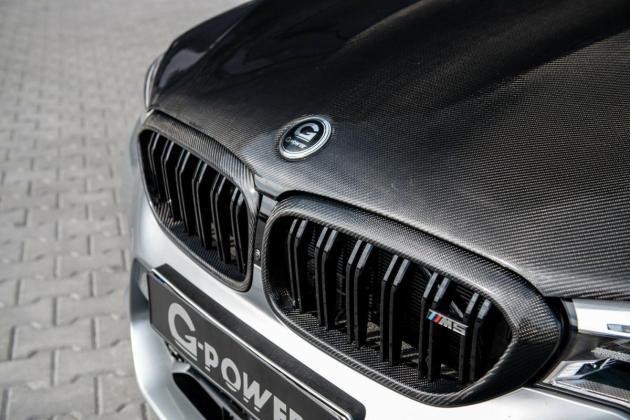 g power m5 f90 carbon motorhaube bonnet 02