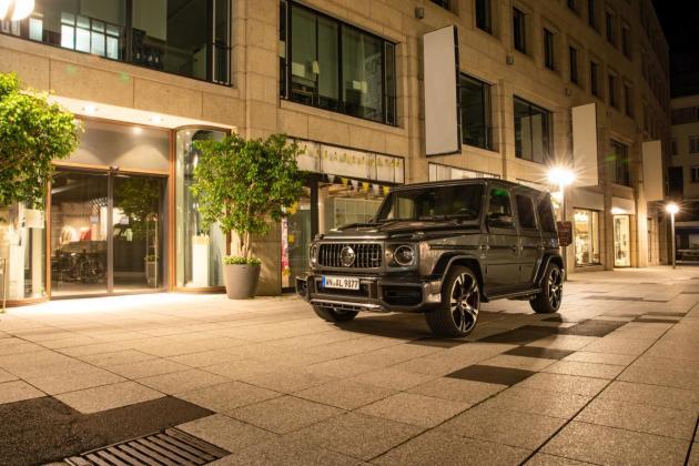 Lorinser Mercedes AMG G3 schraeg vorne Shop
