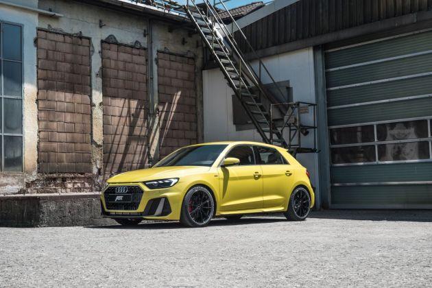 ABT Audi A1 GR18 schraeg vorne 1