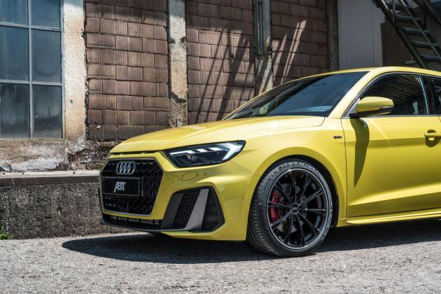 ABT Audi A1 GR18 schraeg vorne Anschnitt