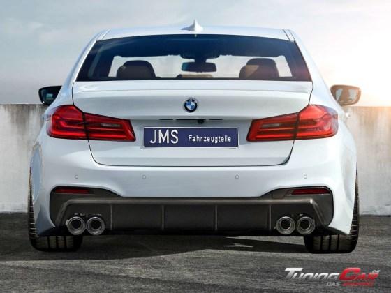 BMW G30 JMS Heck mit carbon mit Remus