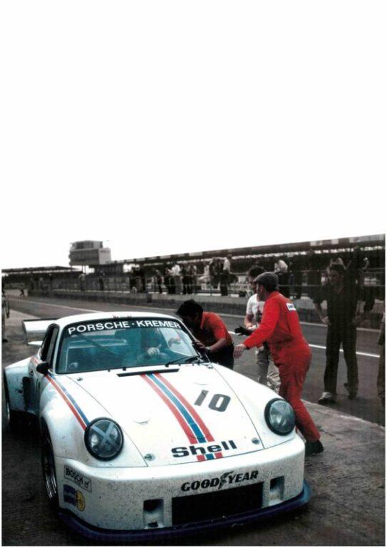 80 Jahre Ekkehard Zimmermann dp Motorsport 1976 Kremer Porsche 935 K1 Silverstone
