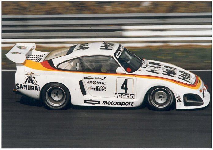 80 Jahre Ekkehard Zimmermann dp Motorsport 1990 Schrey Porsche 935 II Nuerburgring