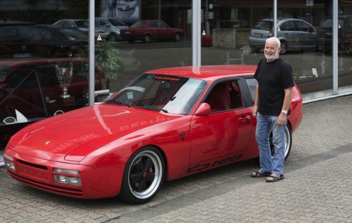 80 Jahre Ekkehard Zimmermann dp Motorsport 1992 Porsche 944 Cargo Strassenausfuehrung