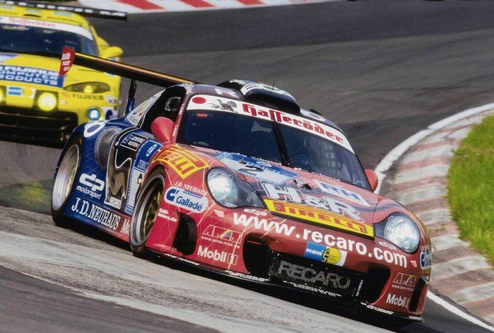 80 Jahre Ekkehard Zimmermann dp Motorsport 2003 Alzen Porsche 911 Biturbo Typ 996 dp5