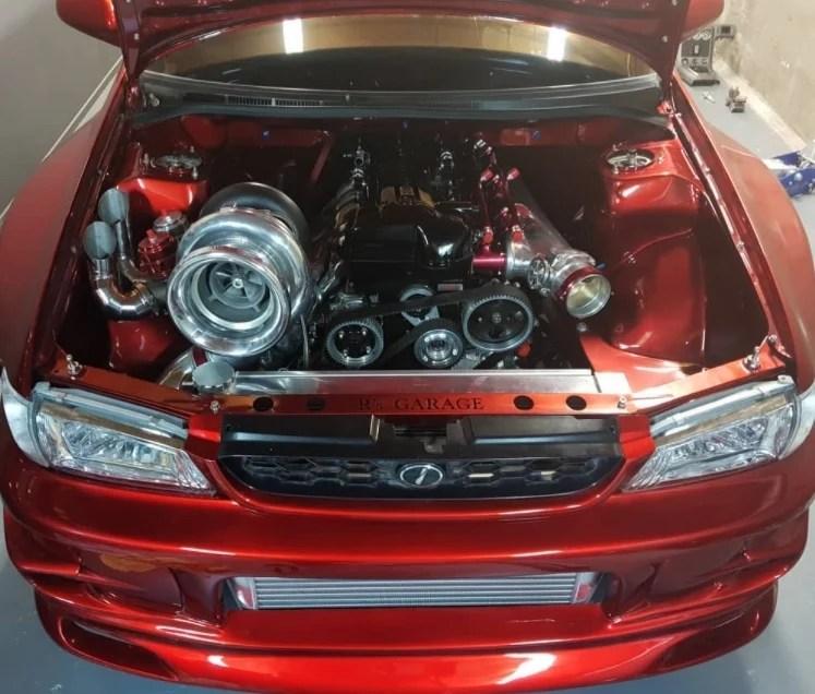 2JZ-GTE Engine Big Single Turbo