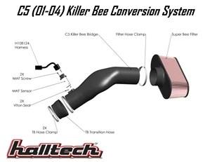 LS6 Halltech Intake System